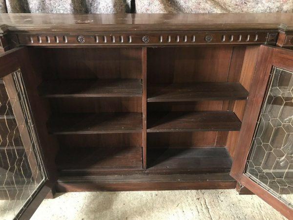 Very-Long-Library-Bookcase-Mahogany-C1830-265083856640-9