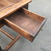1800c-Rustic-Table-With-2-Drawers-383124570702-11