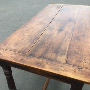 1800c-Rustic-Table-With-2-Drawers-383124570702-2