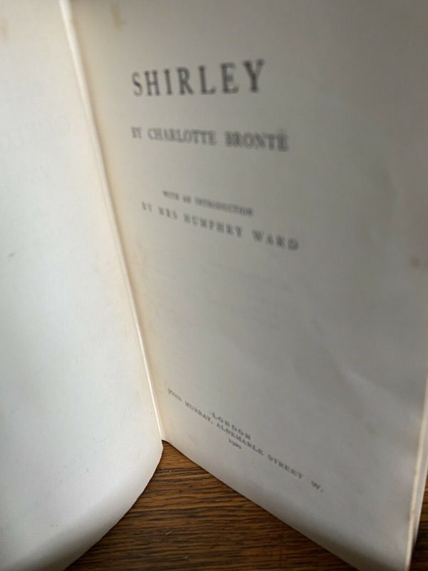 2-Volumes-Of-Charlotte-Bronte-Howarth-Edition-1920-Shirley-And-Wildfall-Hall-265228088072-7