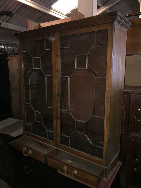 Bookcase-Stained-Glass-Victorian-383917447642