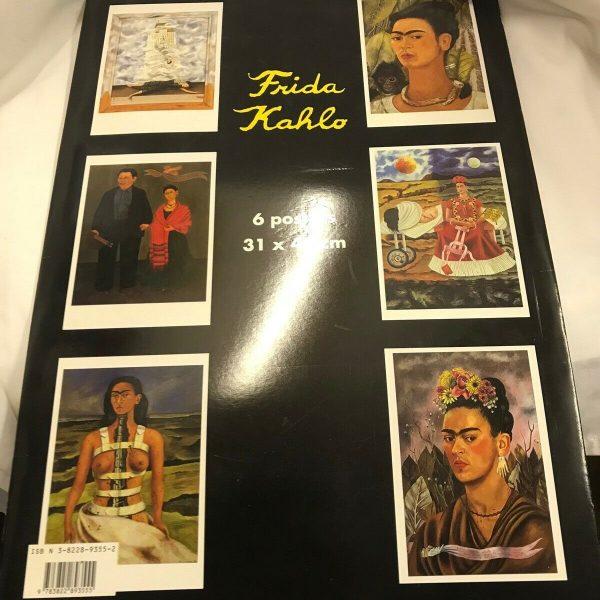 Frida-Kahlo-by-Taschen-Publishing-Postcard-book-or-pack-1994-264274620053-4