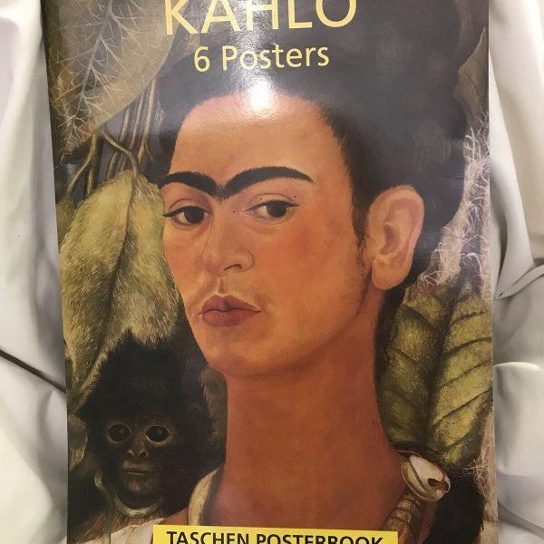 Frida-Kahlo-by-Taschen-Publishing-Postcard-book-or-pack-1994-264274620053