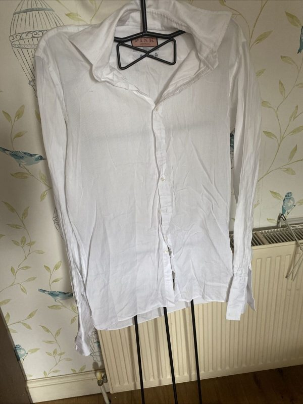 Pink-Brand-White-Quality-Shirt-Size-15-265115377563