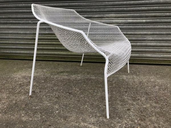 2-Vintage-1950s-Wire-Chairs-Russell-Woodard-265102596384-2
