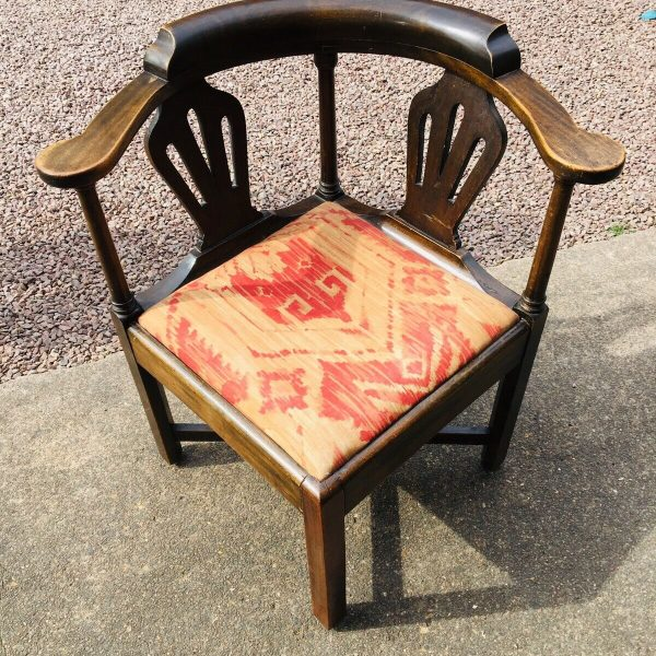 18th-Century-Oak-Corner-Chair-264402130145