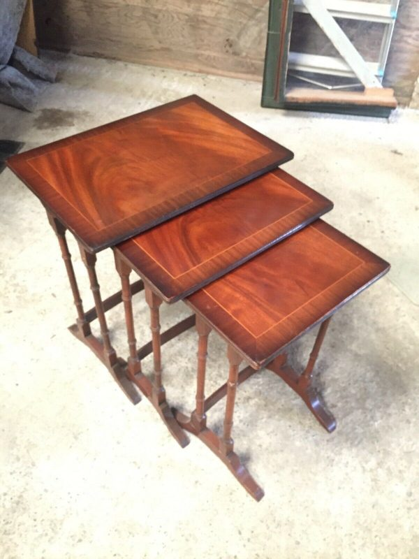 Regency-Flame-Mahogany-Nest-Of-Tables-264449946145