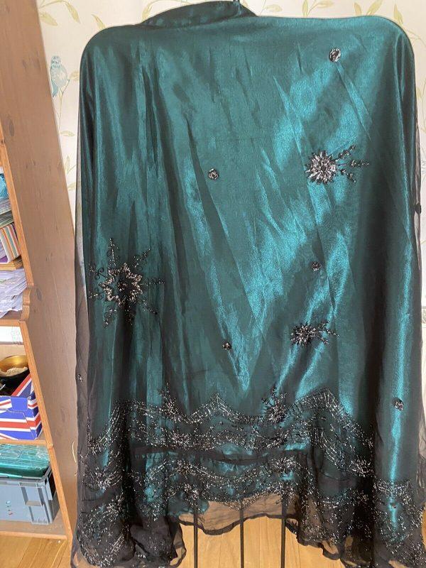 Saree-Queen-Emerald-Green-Saree-Skirt-384082531775
