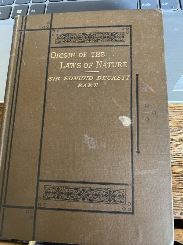 Origin-Of-The-Laws-Of-Nature-By-Sir-Edmund-Beckett-Bart-384101119806