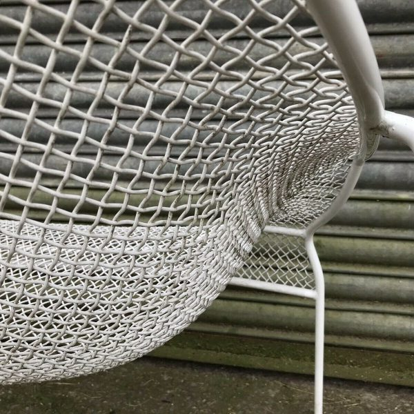 2-Vintage-1950s-Wire-Chairs-Russell-Woodard-264633228537-11