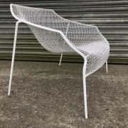 2-Vintage-1950s-Wire-Chairs-Russell-Woodard-264633228537-2