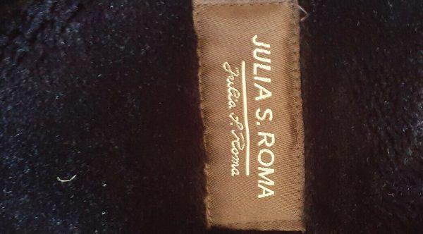 Black-suede-genuine-leather-Coat-Italian-size-16-383747529597-2