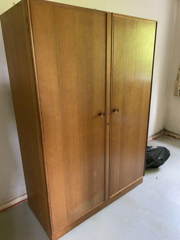 Large-Mid-Century-Teak-Wardrobe-384306548997