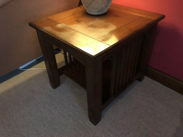 Oak-Coffee-Table-Vintage-264874795417
