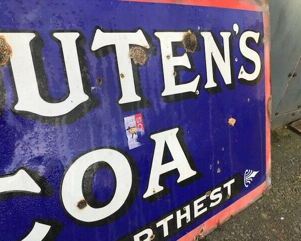 Very-Large-Van-Houten-Metal-Sign-Vintage-383303009087-4