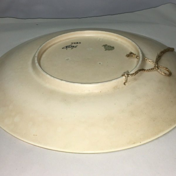 1930S-ART-DECO-SIGNED-CHARLOTTE-RHEAD-CROWN-DUCAL-POTTERY-WALL-CHARGER-5983-264437778358-9