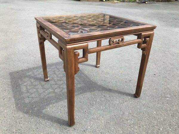 Chinese-Hardwood-Table-And-Four-Chairs-264805467928-2
