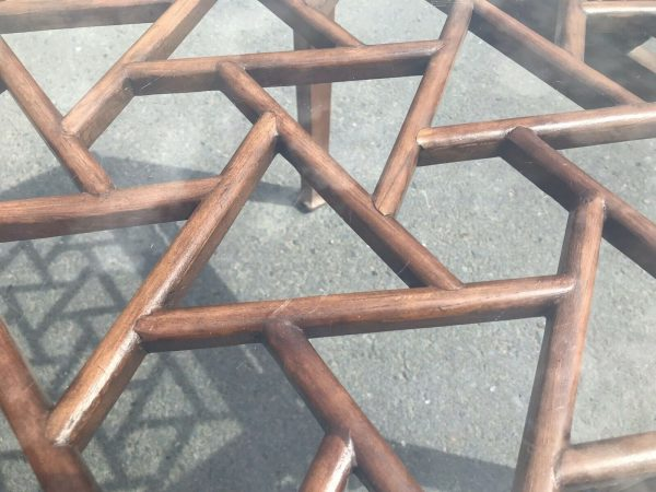 Chinese-Hardwood-Table-And-Four-Chairs-264805467928-4