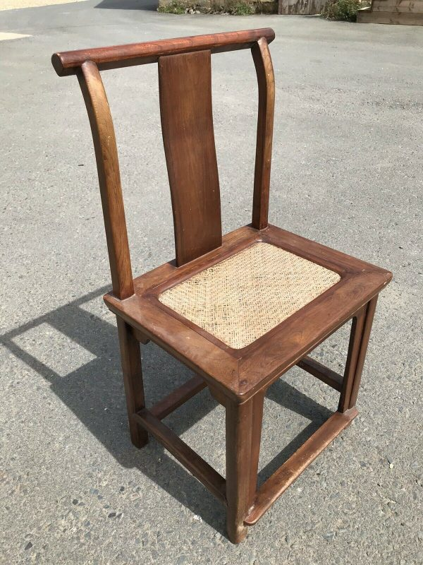 Chinese-Hardwood-Table-And-Four-Chairs-264805467928-8
