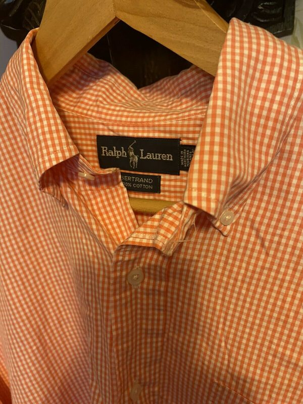 Mens-Ralph-Lauren-Golf-Red-White-Check-Shirt-In-Large-383972700838-2