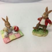 Pair-Royal-Doulton-Collectable-Figures-1996-William-In-A-Hurry-Harry-Playtime-264509553858