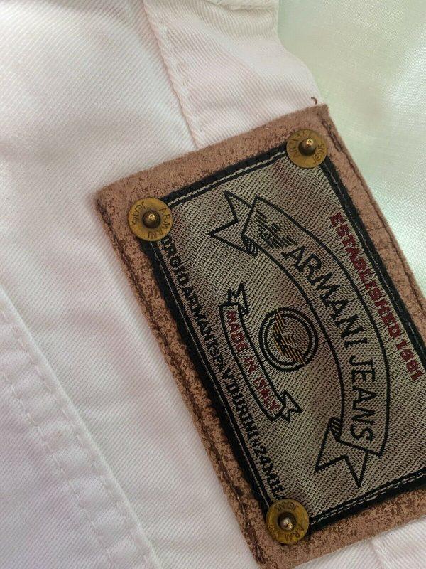 Armani-White-Jeans-Size-28-Waist-383963263629-2