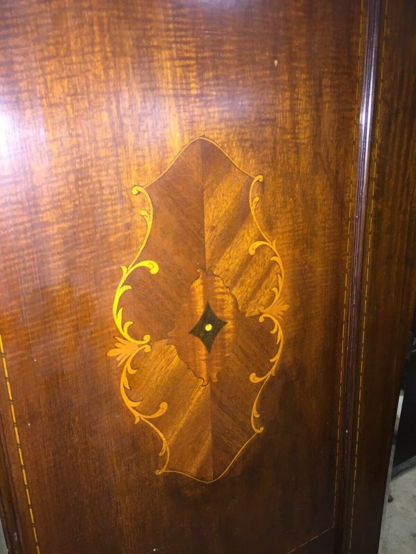 Mahogany-Ornate-Wardrobe-Inlaid-Edwardian-383927662869-3