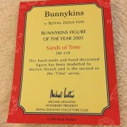 Royal-Doulton-Bunnykins-Figurine-DB229-Sands-Of-Time-Figurine-Of-The-Year-2001-382927187879-4