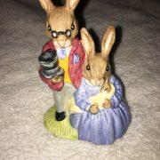 Royal-Doulton-Bunnykins-Figurine-DB68-Mother-Father-Baby-264346493989
