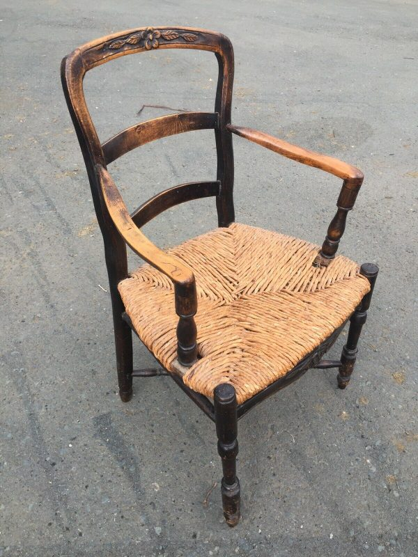 Set-Of-6-Unusual-Rush-Seated-Chairs-C1800-383617695109-2